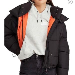 Urban Outfitters ~ Batwing Puffer Jacket